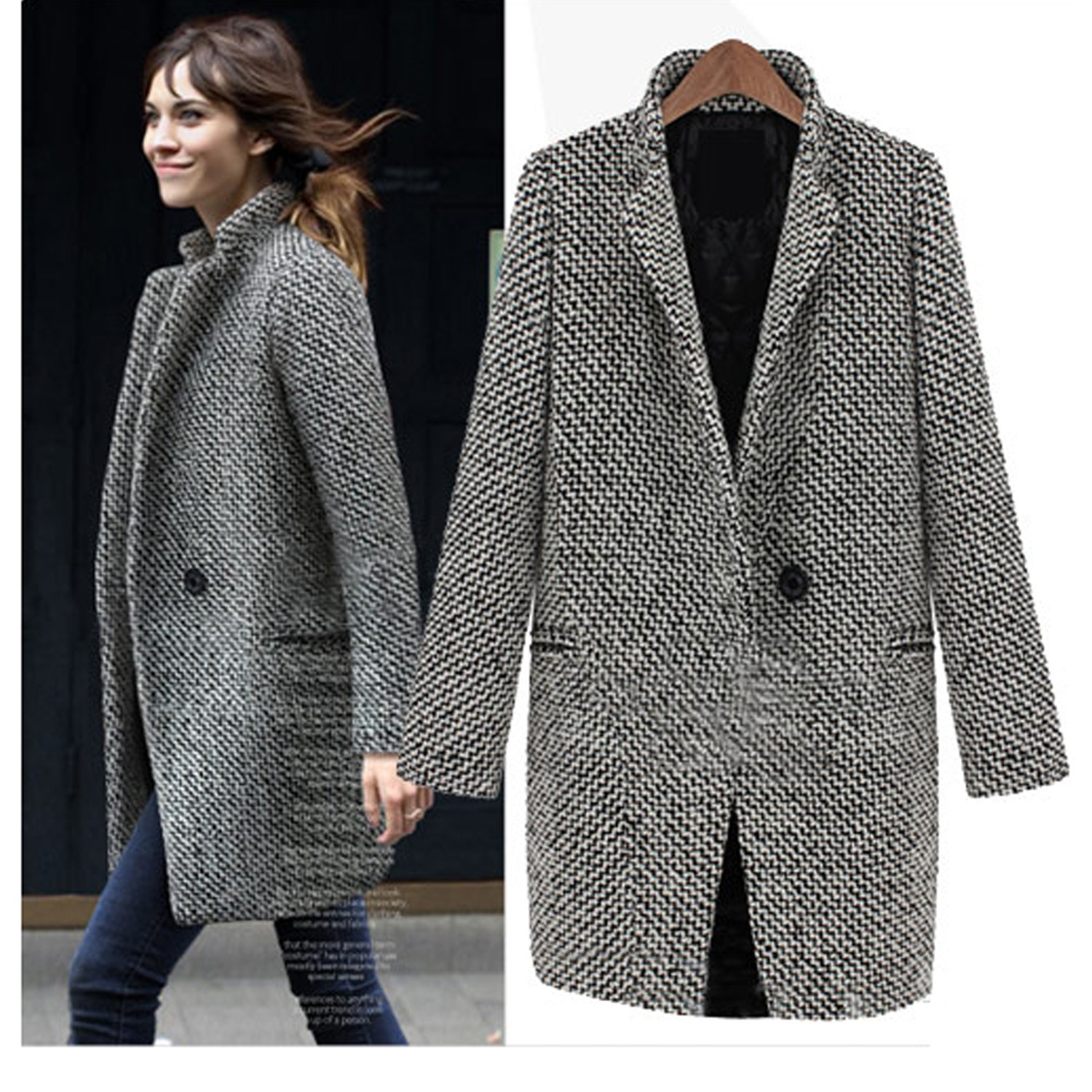 See by Chloe Double-Breasted Cape Coat | Coat Trends Fall ...
