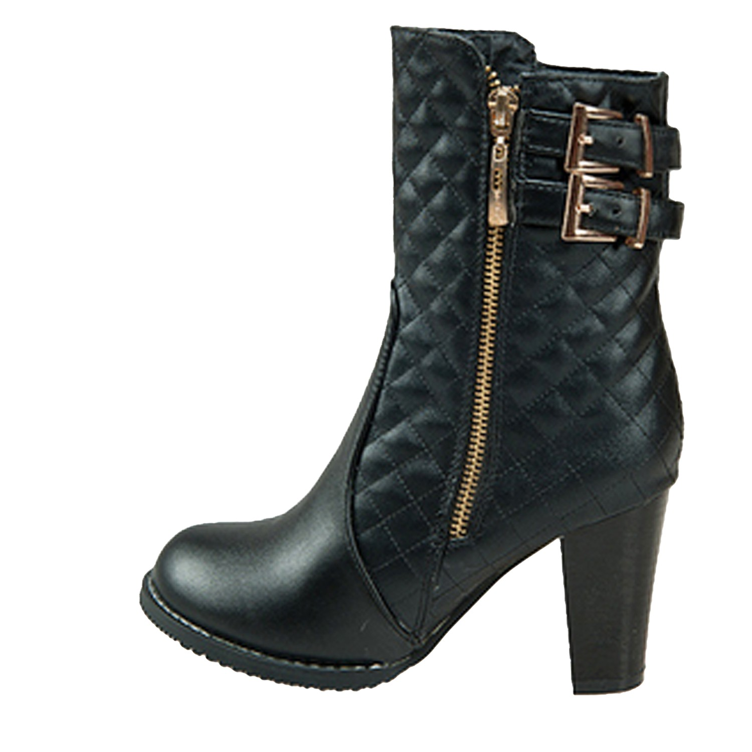 womens high heel shoes ankle booties winter vintage boots